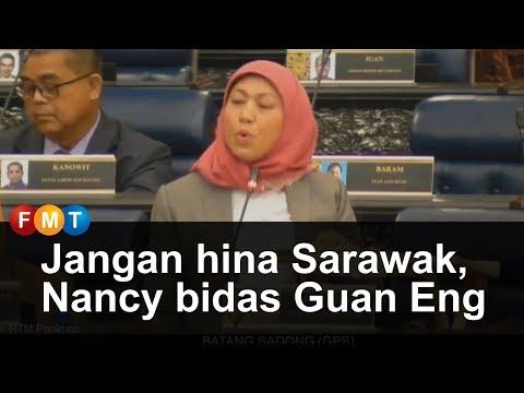 Jangan hina Sarawak, Nancy bidas Guan Eng