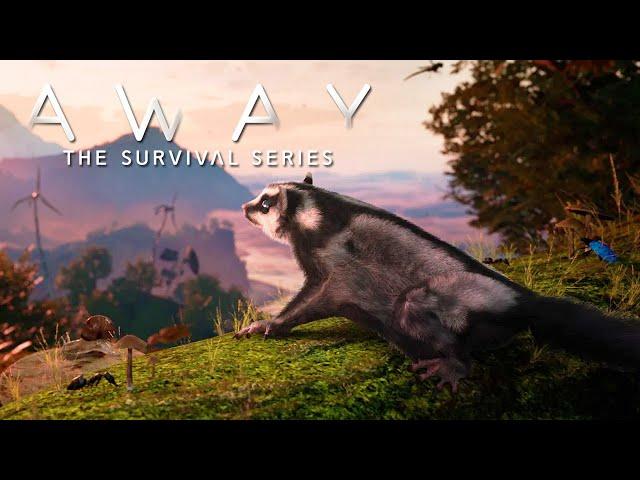 AWAY: The Survival Series 🐿️ Ein tödlicher Sturm #01 [Lets Play   Gameplay Deutsch]