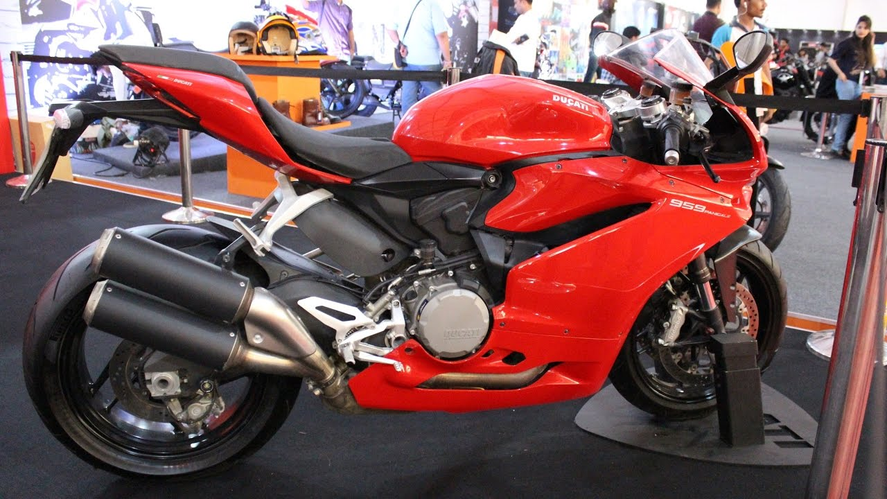 2017 Ducati Panigale 959 India Firstlook And Walkaround Youtube