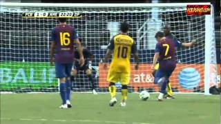 America - Barcelona (0-2) highlights, goals