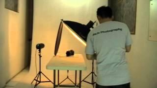 [Berbagi Ilmu Fotografi] Foto produk - objek kamera dengan background putih