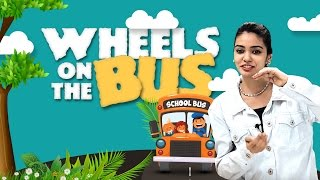 Wheels on the Bus Collection | Top 10 Nursery Rhymes With Lyrics | Action Songs For Children