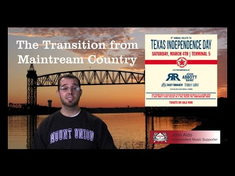 The Transition from Mainstream Country