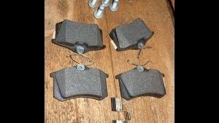 Замена задних тормозных колодок (дисковые тормоза) на автомобиле Шкода Октавия Тур