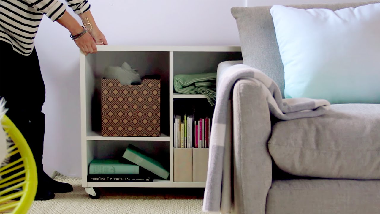 3 Clever Hidden Storage Solutions You