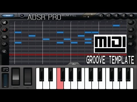 ADSR Pro creating midi groove templates from hardware like  AKAI MPC TR808 909