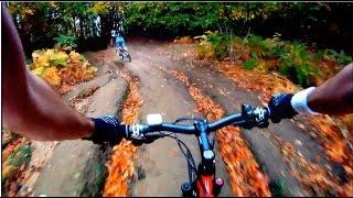 Uludağ 'dan Bursa 'ya Araziden İniş / MTB ride (1020m) - GoPro HD - Mountain Biking TURKEY