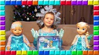 ❒ FROZEN Холодне серце Музична ШКАТУЛКА Disney Ельза, Анна і Олаф Розпакування та огляд