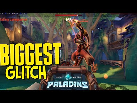 🎮Paladins GONE WRONG ▻THE BIGGEST GLITCH IN PALADINS HISTORY - YouTube