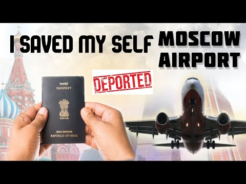🇮🇳INDIANS DEPORTED AT 🇷🇺RUSSIAN AIRPORT!