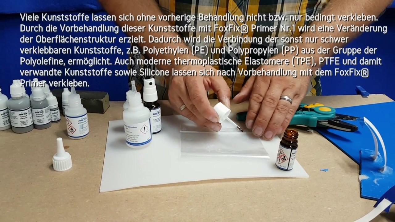 Die Klebstoff Schweissnaht Der Primer Fur Polyethylen