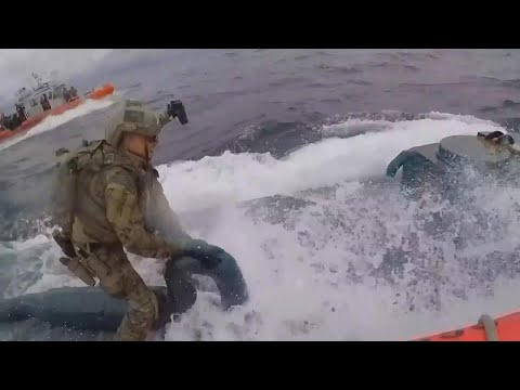 Walton And Johnson - Video - Unbelievable Footage of Coast Guard Busting a Cocaine-Submarine