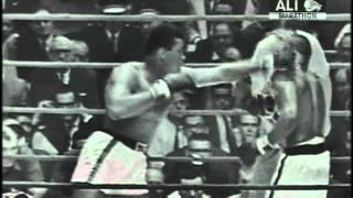 Cassius Clay aka Muhammad Ali v Sonny Liston 1964