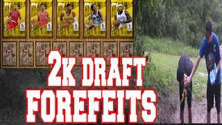 Nba 2k16 draft mode forfeits - my luck is unreal!?!?!?!?