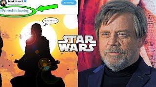 Mark Hamill Teases Luke's return in Episode 9 - Star Wars News Explained