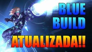 Gameplay Ezreal - BLUE BUILD ATUALIZADA