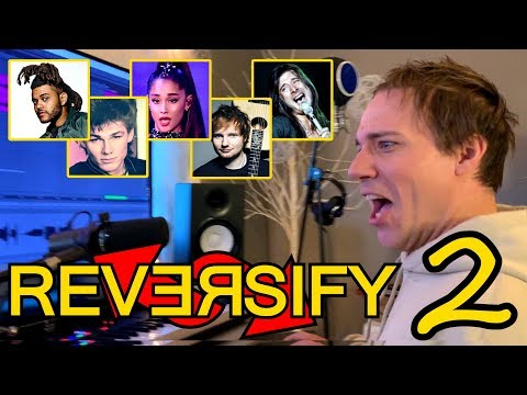 BACKWARDS SINGING CHALLENGE #2! #Reversify (Feat. Baasik)