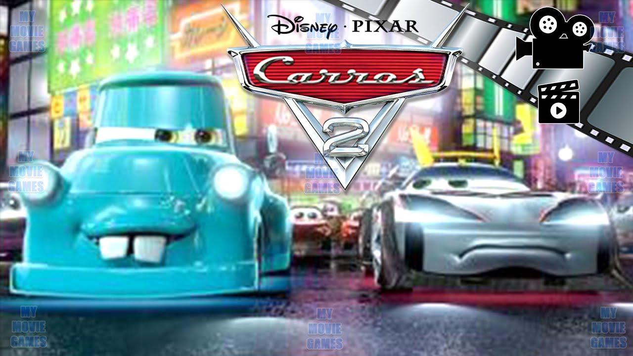 Carros 2 Filme Dublado Infantil Jogo Desenhos Animados Em Portugues Mcqueen My Movie Games Youtube