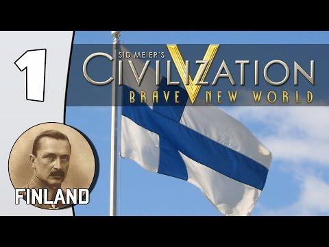 Helsinki - Civilization V (With Mods): Finland - Part 1