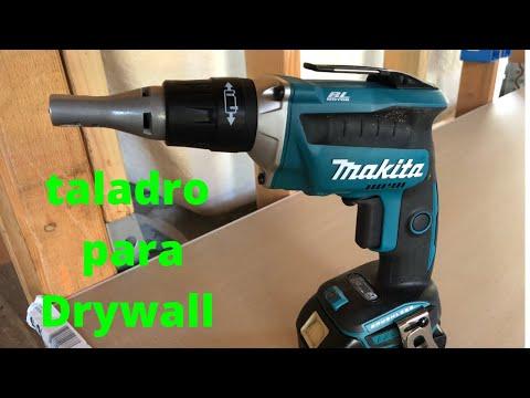 Screw-gun Taladro para atornillar drywall (unboxing y review)