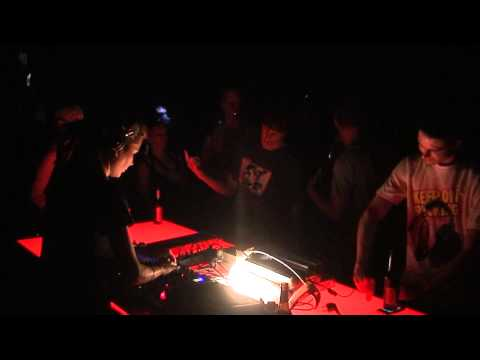 "Yuka  at  ""All you need is ears""   at Tresor Berlin  2010 Part 2"