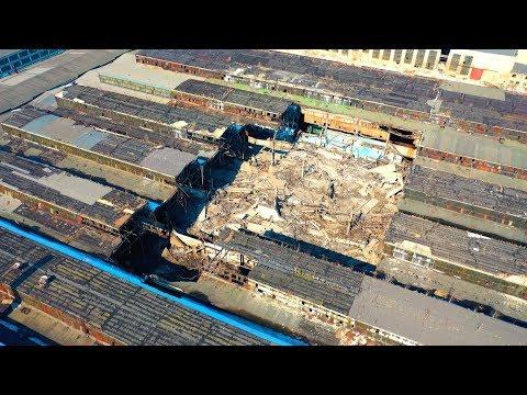 Дзержинский Химмаш - обрушение крыши корпуса
