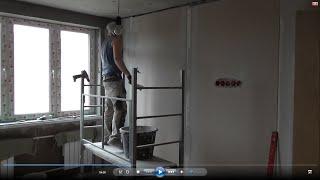видео Внутренняя отделка дома из пеноблоков
