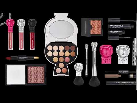 KARL LAGERFELD + MODELCO Limited Edition Beauty Collection.