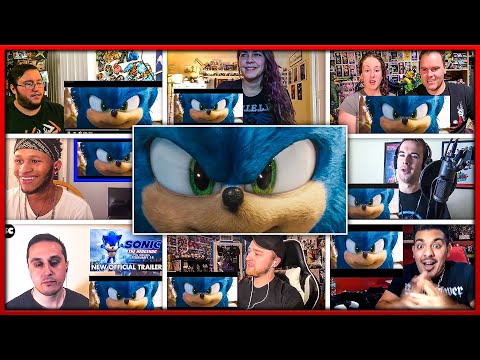 Sonic the Hedgehog Trailer 2 Reactions Mashup