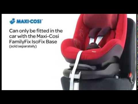 Автокресло Maxi-Cosi Pearl - Видео обзор