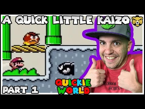 Quickie World: An Easy And Fast Paced Super Mario World Rom Hack Part 1