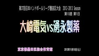 第37回日本ハンドボールリーグ大崎電気vs湧永製薬