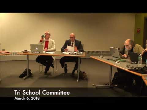 Tri School Committee 03.06.18
