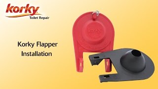 How to install a Korky Premium Toilet Flapper