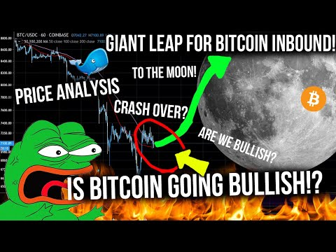 BITCOIN GOING TO THE MOON! $8000 Bitcoin Incoming?!