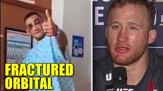 Tony Ferguson HOSPITAL update after UFC 249 loss, Fractured orbital, Gaethje wants Khabib then Conor