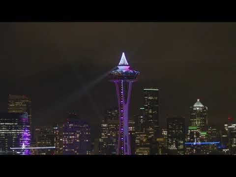 The Space Needle Wraps Up An Iconic Year With A First Ever