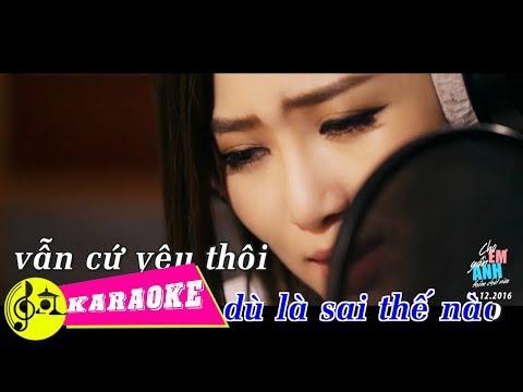 [KARAOKE] Cho Em Gần Anh Thêm Chút Nữa - Hương Tràm | Beat Chuẩn