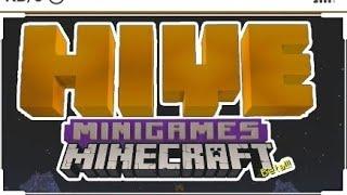 Играю в мини игры на сервере THE HIVE