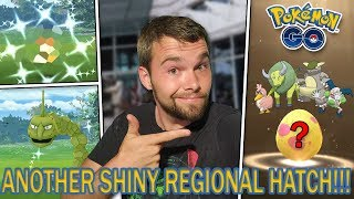 ANOTHER SHINY REGIONAL HATCH! PLUS 2 AWESOME SHINY CATCHES!!! Pokemon GO Ultra Bonus