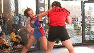Alesha Zappitella vs Stephanie Alba (English) Full Fight | MMA | Combate 13