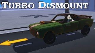 Turbo Dismount Веселая игра краш тест как мультик для детей про машинки