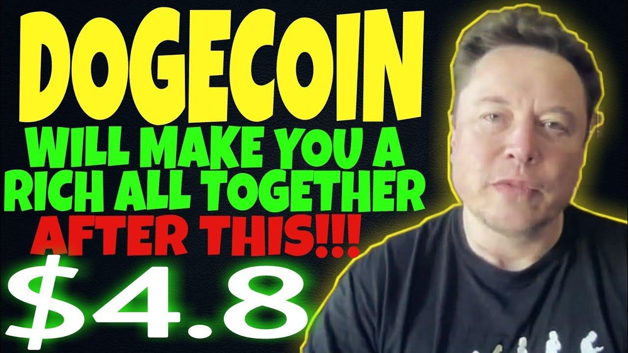 DOGECOIN WILL MAKE MANY MILLIONAIRE! HUGE PUMP .8 SOON.. DOGECOIN NEWS TODAY