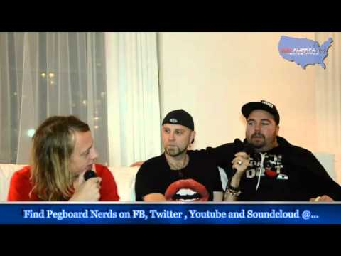 EDM America TV - Interview - Pegboard Nerds At The Aragon in Chicago