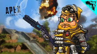 PEACEKEEPER MOST OP GUN? - Apex Legends