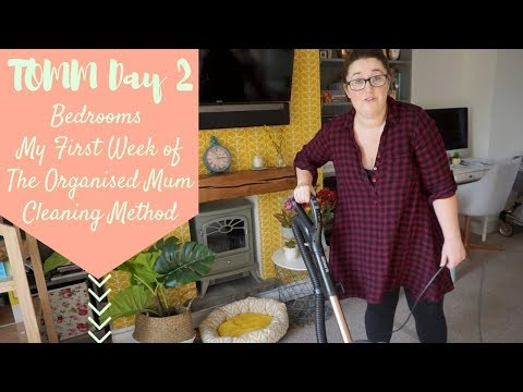 TOMM Day 2 - Bedrooms - My First Week of The Organised Mum Cleaning Method