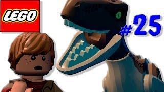 Лего мультик про динозавров Мир Юрского периода [25] Бубликов нашелся