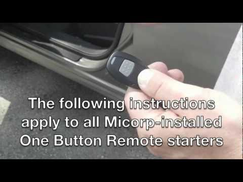 Micorp remote car starters