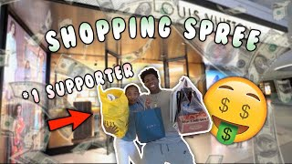 I TOOK MY BIGGEST FAN OUT ON A SHOPPING SPREE! *Best day ever*