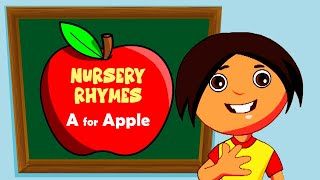 A for Apple | Nursery Rhyme for Kids - Animated Songs for Children